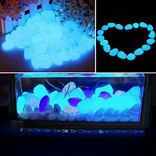 500 Pcs Glow in the Dark Pebbles
