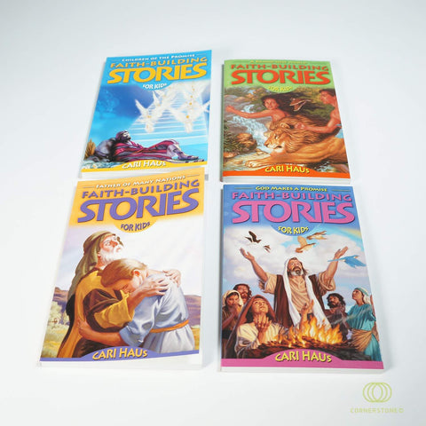 Faith Building Stories (4 Book Set)
