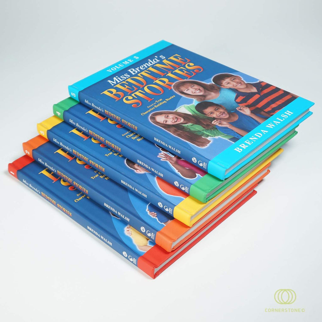 Miss Brenda's Bedtime Stories - 5 Volume Set