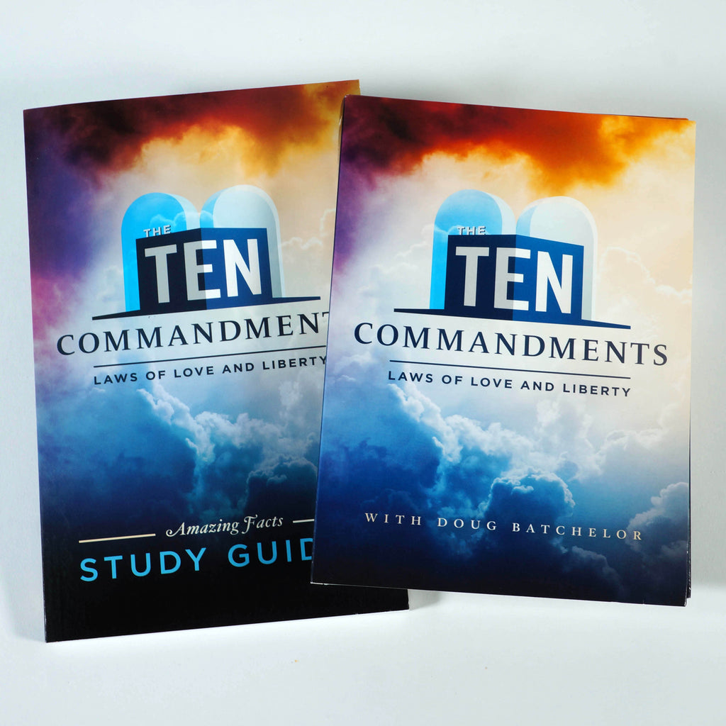 The Ten Commandments: DVD and Guide Set