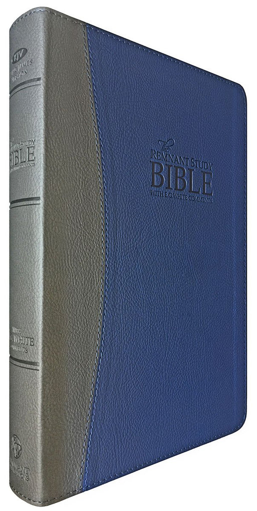 Remnant Study Bible KJV Blue/Gray Leathersoft