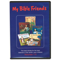 CD  My Bible Friends Full Set Vol 1-10