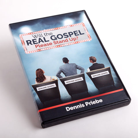 Will the REAL GOSPEL Please Stand Up?