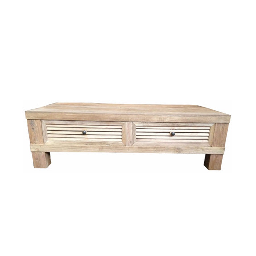 Lourve Coffee Table 2 x Drawer