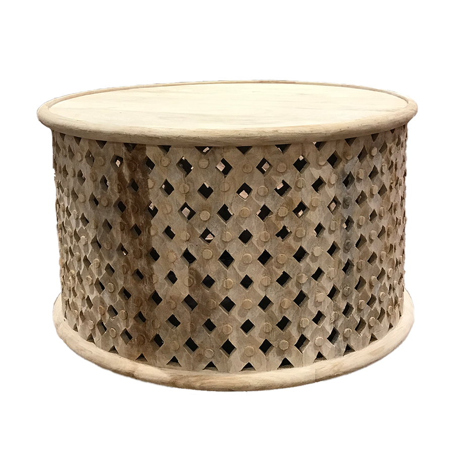 Natural Bamileke Coffee Table