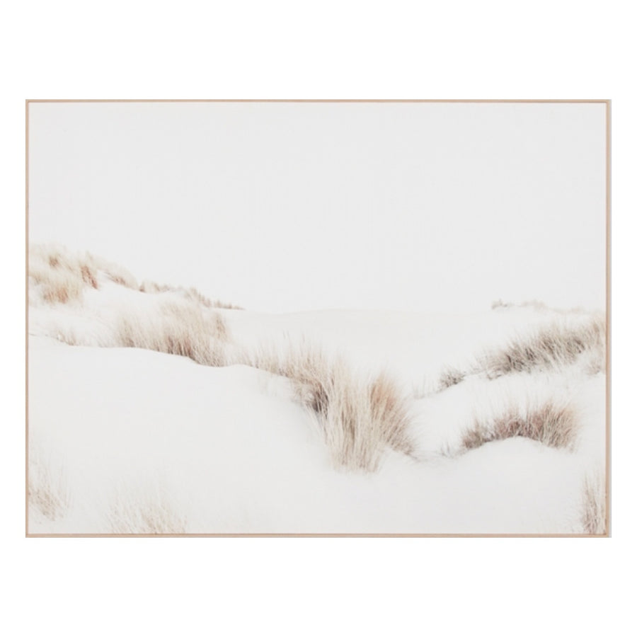 Dune Scape Framed Canvas