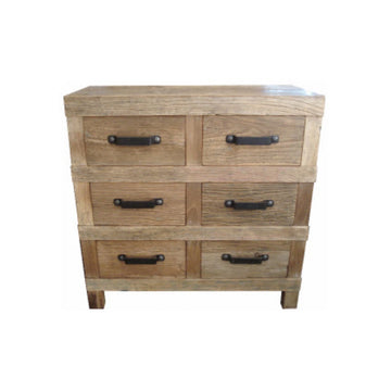 Leura 6 Drawer High Sideboard