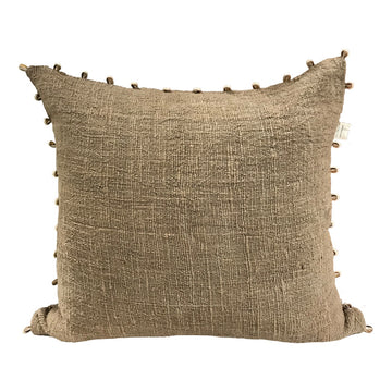 Shell Cushion - Olive