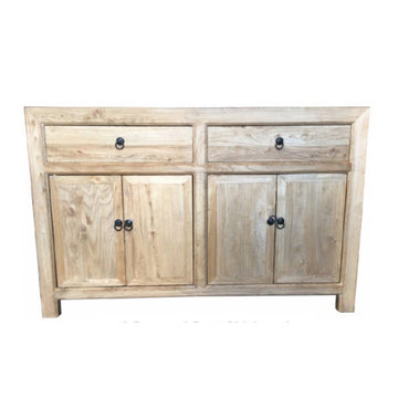 Chinese Antique 2 Drawer, 4 Door Sideboard