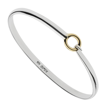 Oh Honey Bangle Yellow/Silver