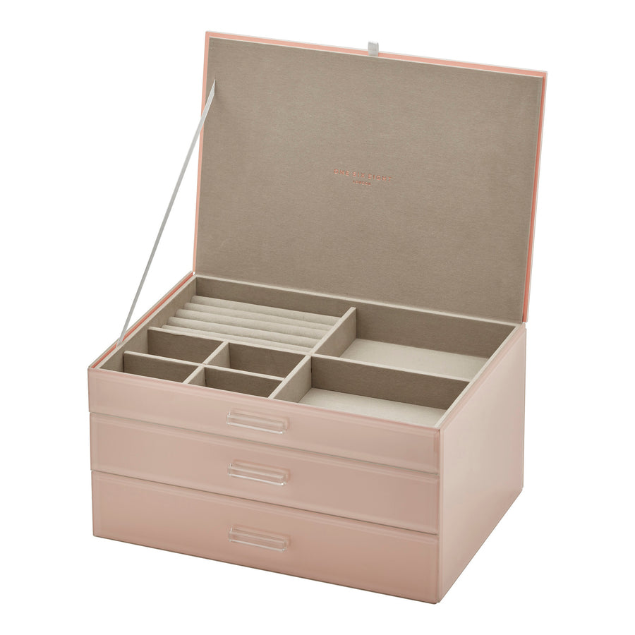 Gabriella Blush XLarge Jewellery Box