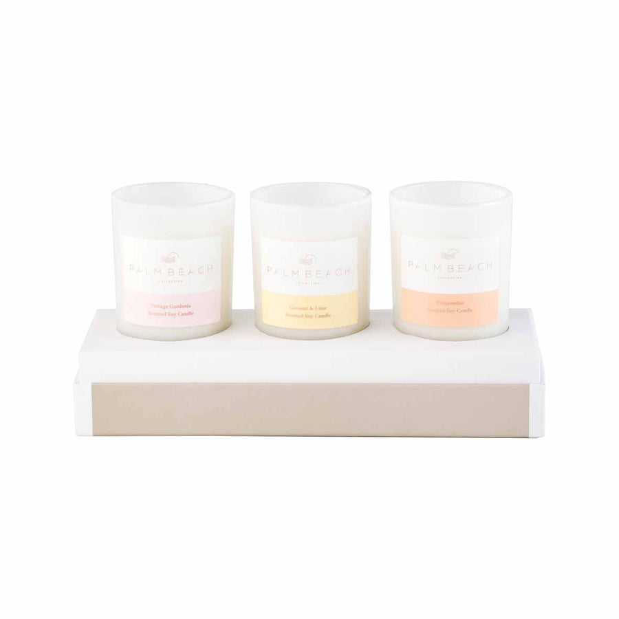 3 Mini Candles Pack