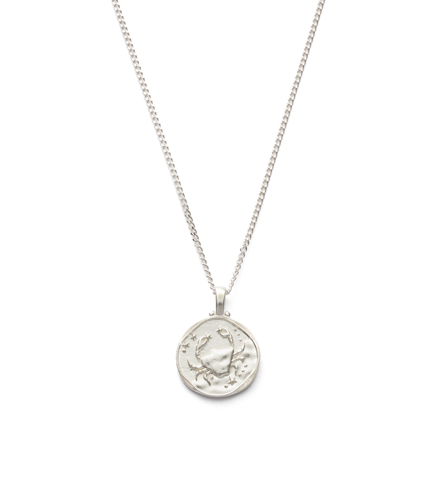 Cancer Zodiac Necklace 16-18