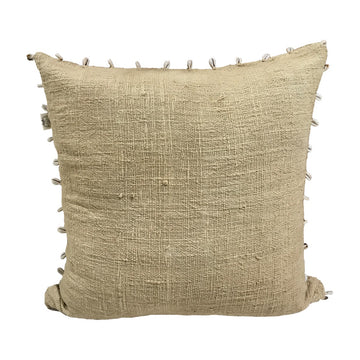 Shell Cushion Jute