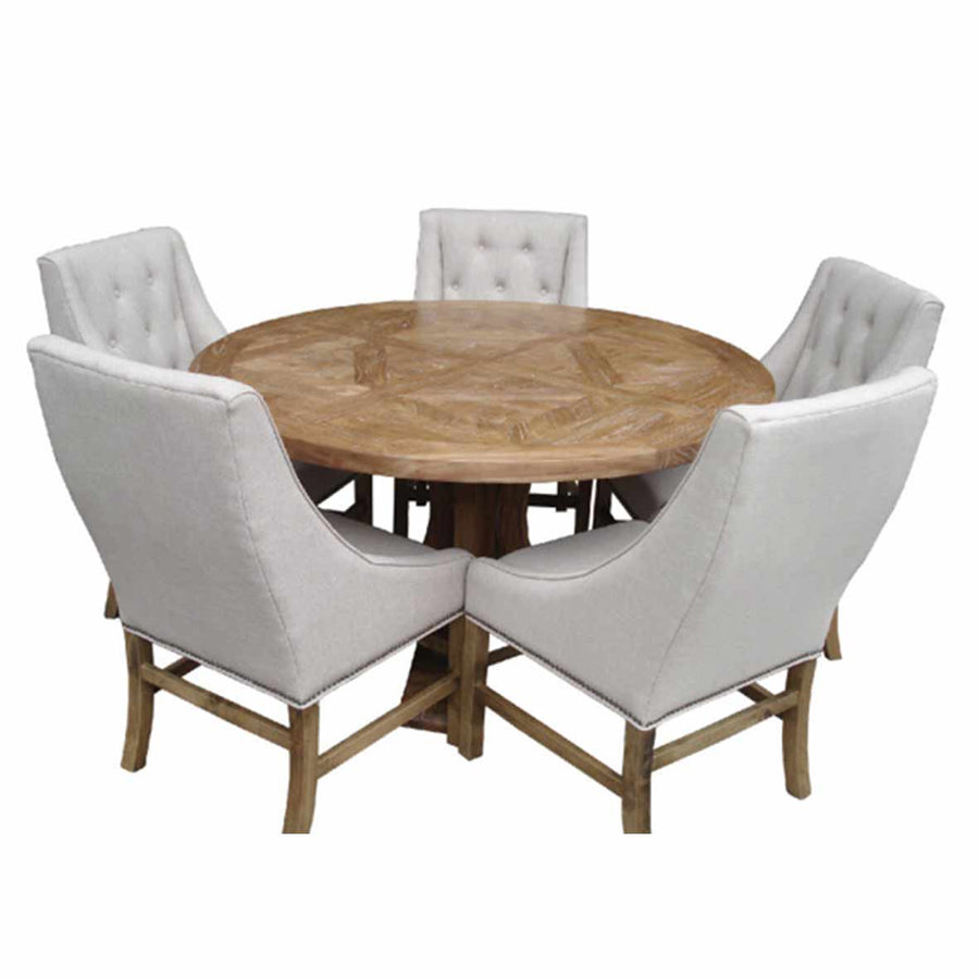 Ronde Round Dining Table All Natural