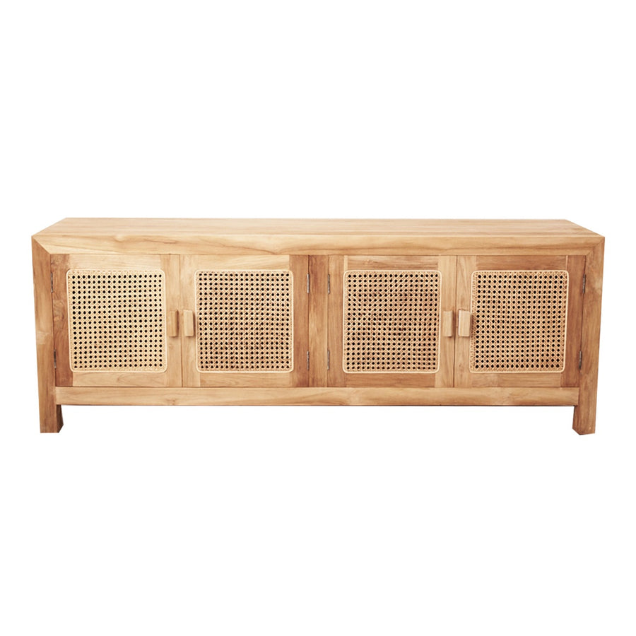 St Barts Natural Low Line Console