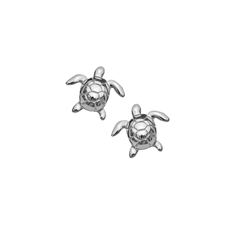 Turtle Silver Studs