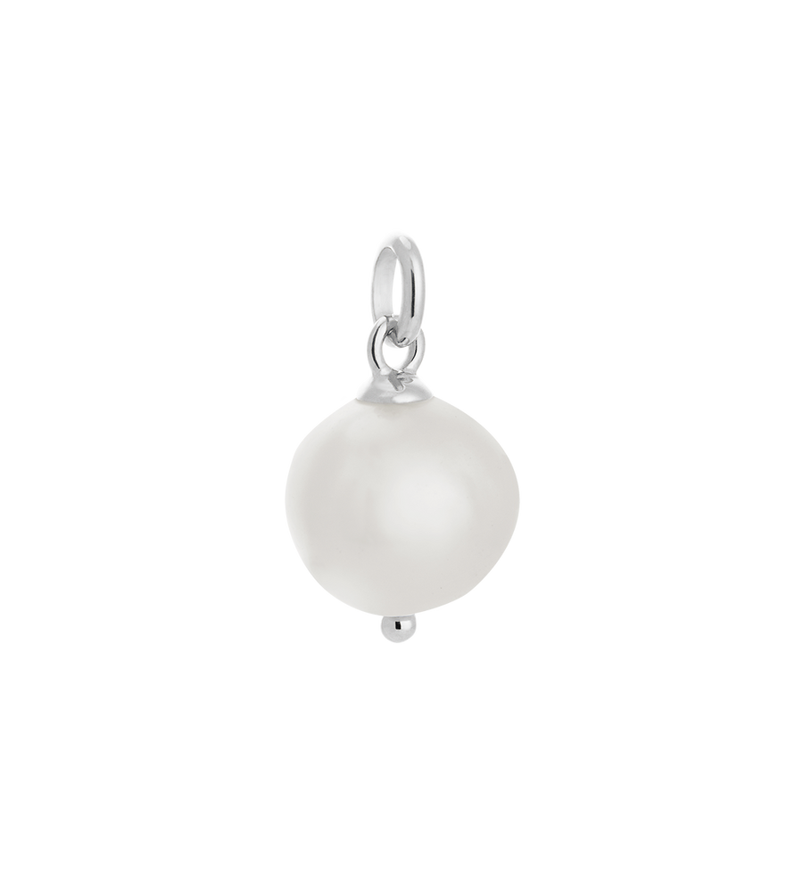 Large Freshwater Pearl Sterling Silver