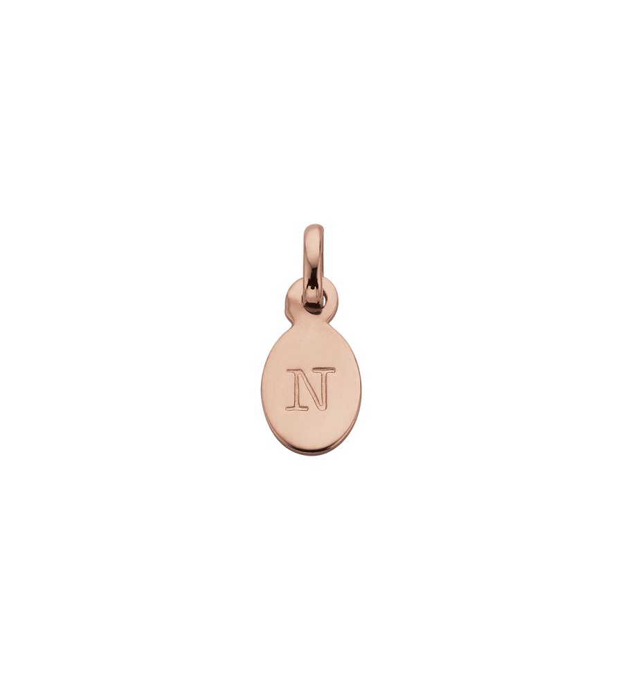 Initial A-Z Rose Gold