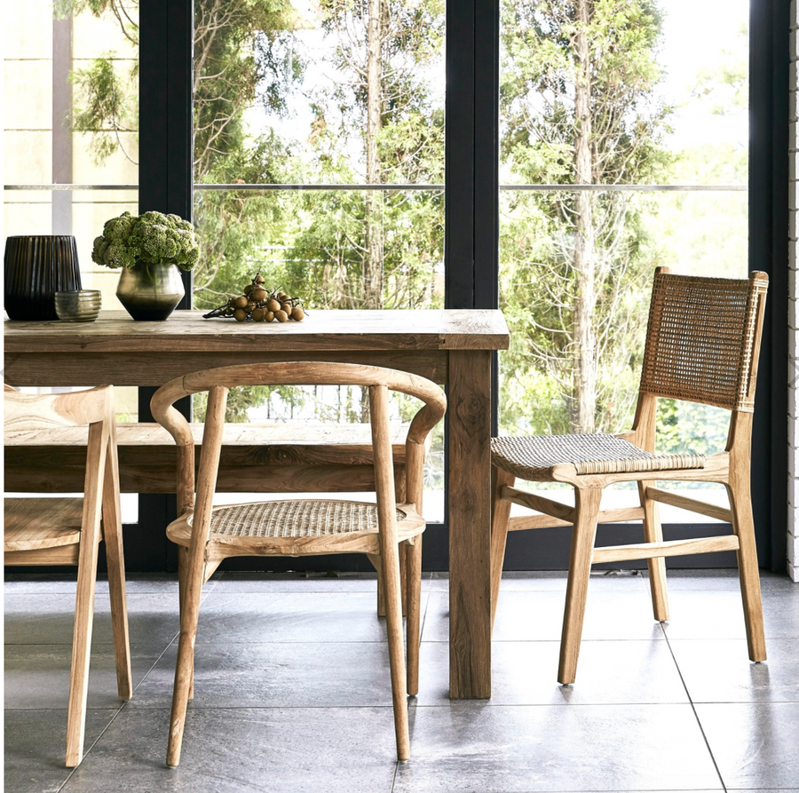 St Barts Natural Dining Chair