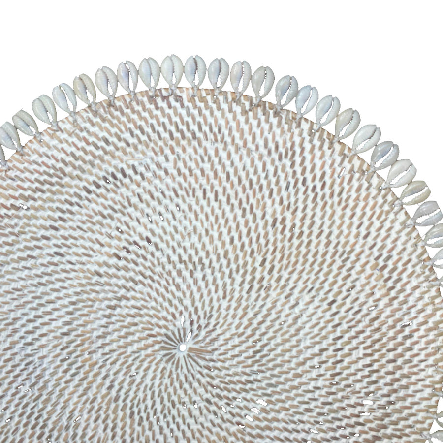 White Shell Placemat