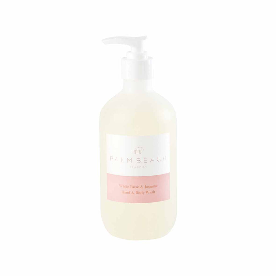 White Rose & Jasmine Hand & Body Wash