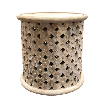 Natural Bamileke Side Table