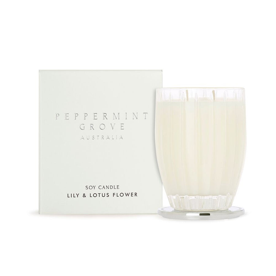 Lily & Lotus Flower Fragrance Candle