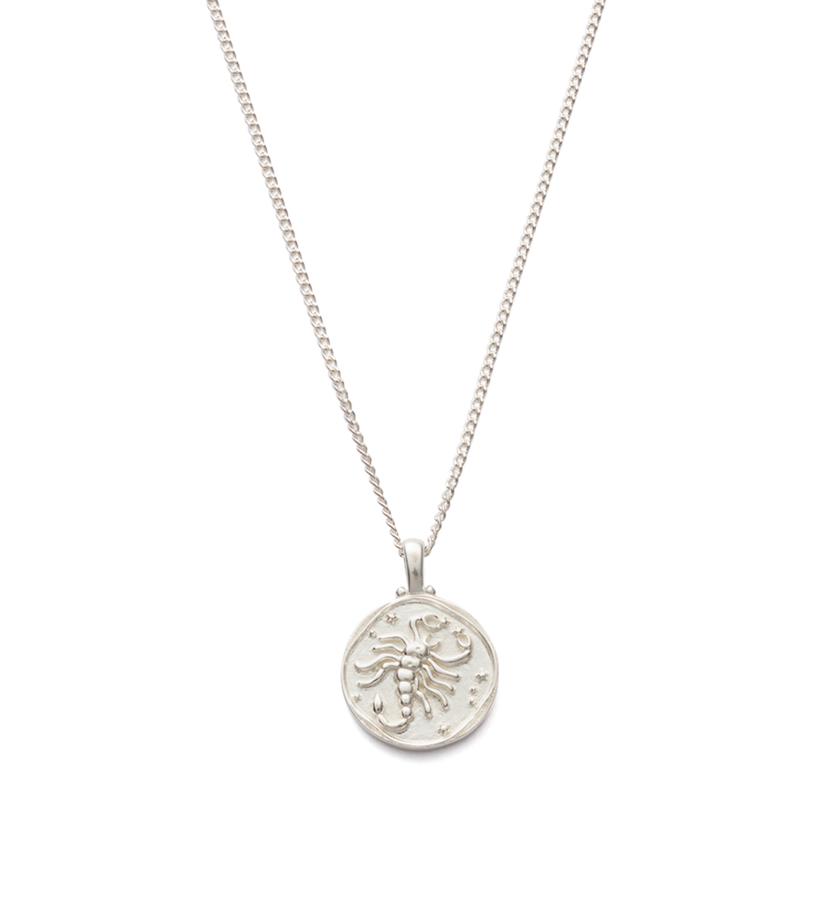 Scorpio Zodiac Necklace 16-18