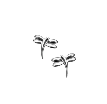 Dragonfly Silver Stud