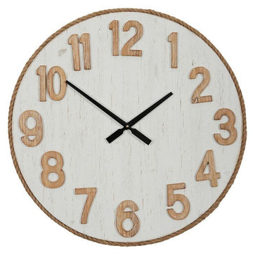 Adriatic Wood/Rope Clock