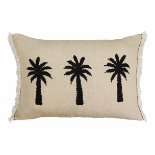 Bermuda Palm Linen Cushion 40x60cm