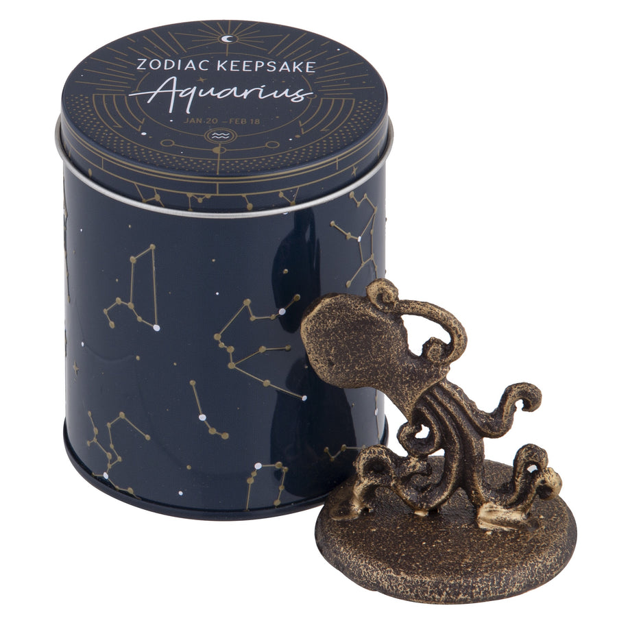 Zodiac Aquarius Keepsake