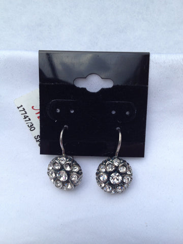 Swarovski Crystal Small Round Earrings