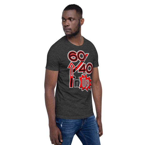 "Unisex Short-Sleeve ""60/40"" T-Shirt"
