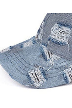 Load image into Gallery viewer, Denim  PonyHats Ponycaps