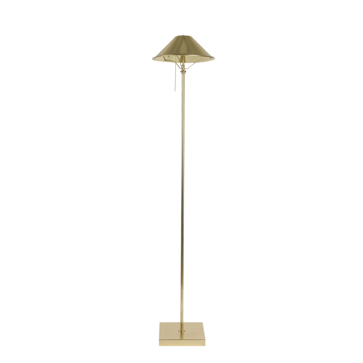 Cordless Brass Floor Lamp
