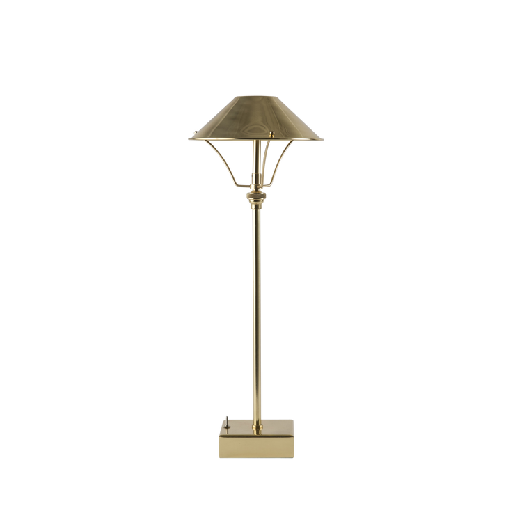 Cordless Brass Table Lamp
