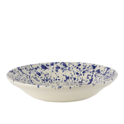 Splatterware Rimmed Serving Bowl -16""