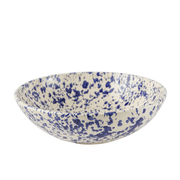 Splatterware Shallow Serving Bowl - 13.5""
