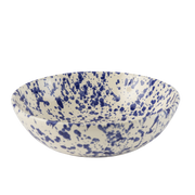 Splatterware Shallow Serving Bowl - 10""