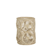 Raffia Vessel Holder, Small