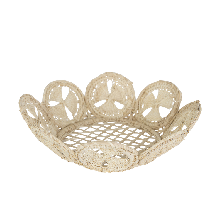 Raffia Basket, Medium