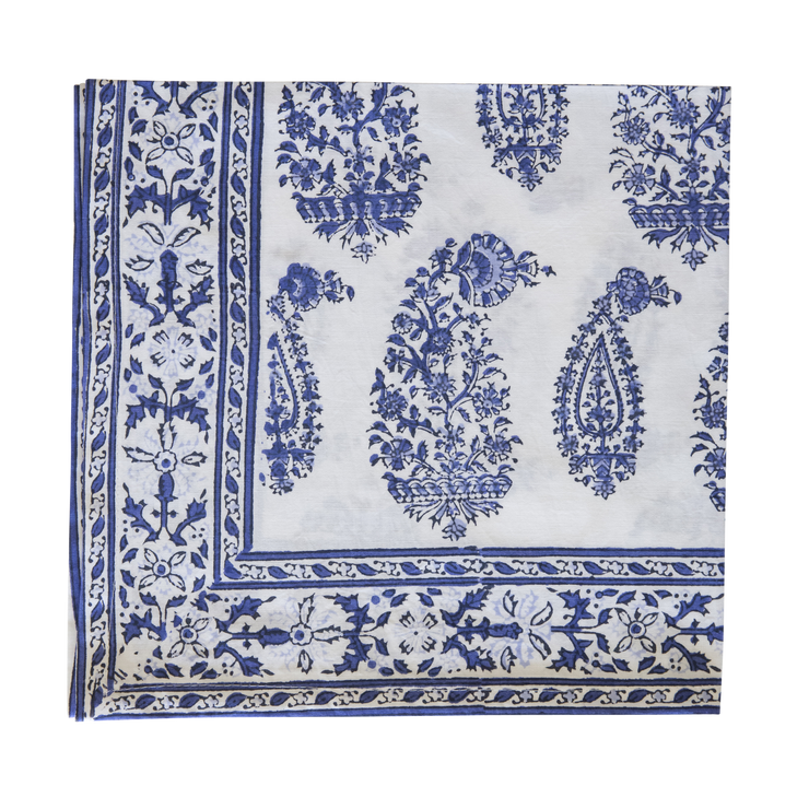 Malabar Blockprint Napkins, Set of 4