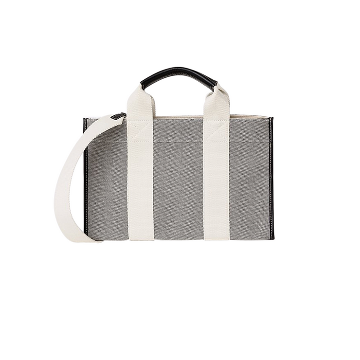 Rue De Verneuil Mini Tote in Black and White