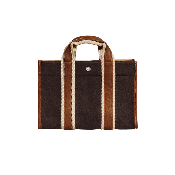 Rue De Verneuil Traveller Bag in Brown/Camel