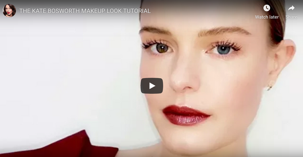 Kate Bosworth Makeup tutorial @lisaeldridge