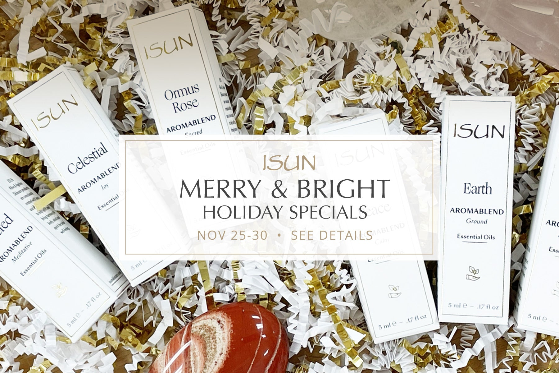 isun skincare black friday small business saturday cyber monday holiday specials