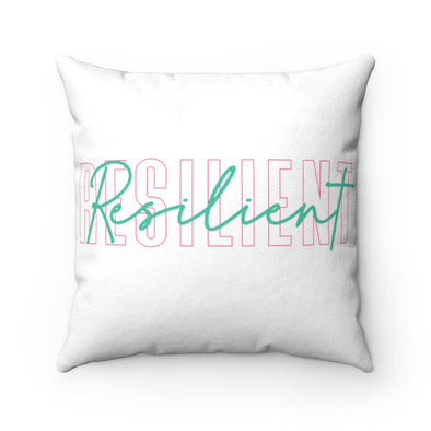 Resilent Faux Suede Square Pillow Case