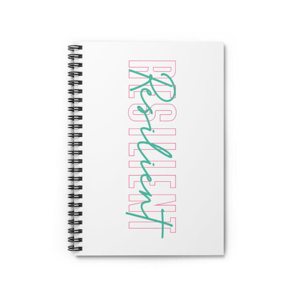 Resilient Spiral Notebook - Ruled Line
